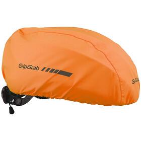GripGrab Waterproof Helmüberzug orange